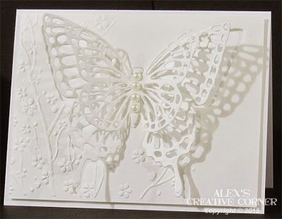 Alex's Creative Corner: Delicate Butterflies: