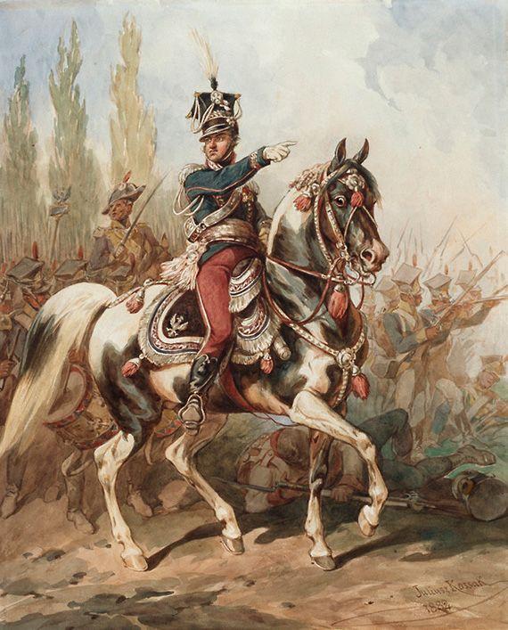 наполеон и революция: Коссак (Juliusz Kossak) Юлиуш (1824-1899)