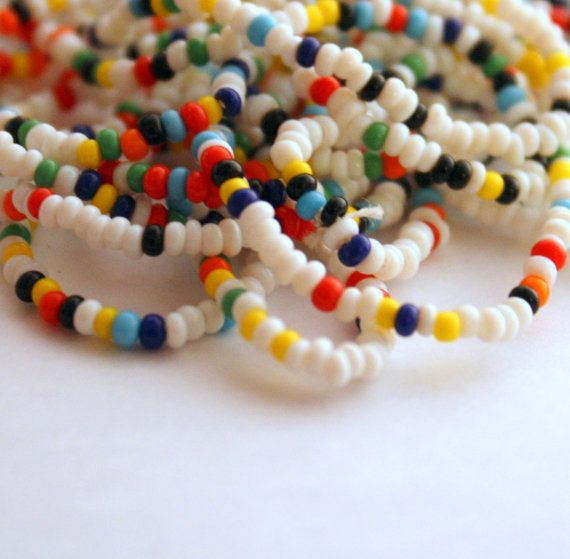 Vintage Seed Bead Necklace  Assemblage Parts  by ThisPurplePoppy, $1.50