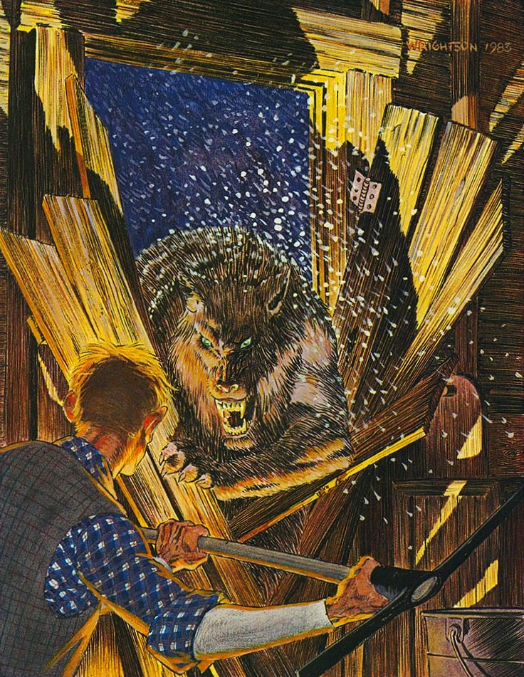 Cycle of the Werewolf art by Bernie Wrightson, 1983