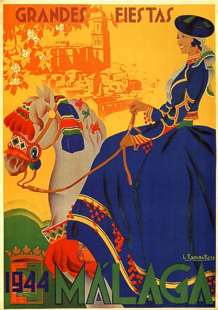 Cartel Málaga año 1944