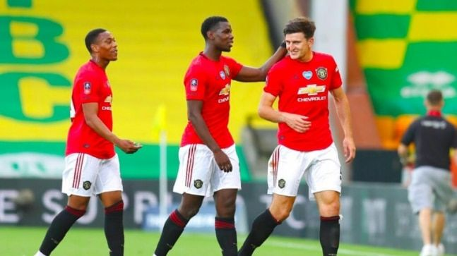 Manchester United Beat Norwich In Extra Time To Reach Fa Cup Semi Finals Wolves In 5th In 2020 Fa Cup Manchester United The Unit