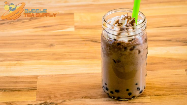 Learn how to make a Mocha Bubble Tea drink using Bubble Tea Supply's Mocha Flavor Powder with Boba Tapioca Pearls by Neptune Ice. This is the standard recipe for our flavor powder however you can easily substitute in milk, almond milk, etc for the creamer and water. You can also change out the sweetener to match the flavor preferences of your customers or friends and family. Visit our website for the full recipe.