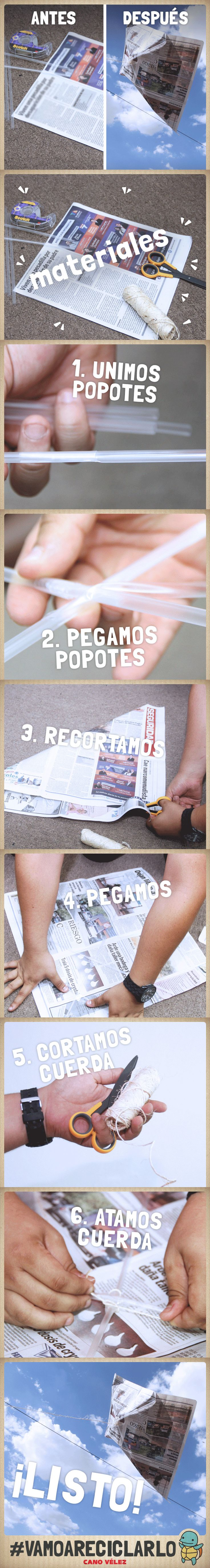 Aprovechen la última semana de vacaciones con sus hijos compartiendo el buen habito del reciclaje. ¿Tienes periódico viejo? #VamoAReciclarlo