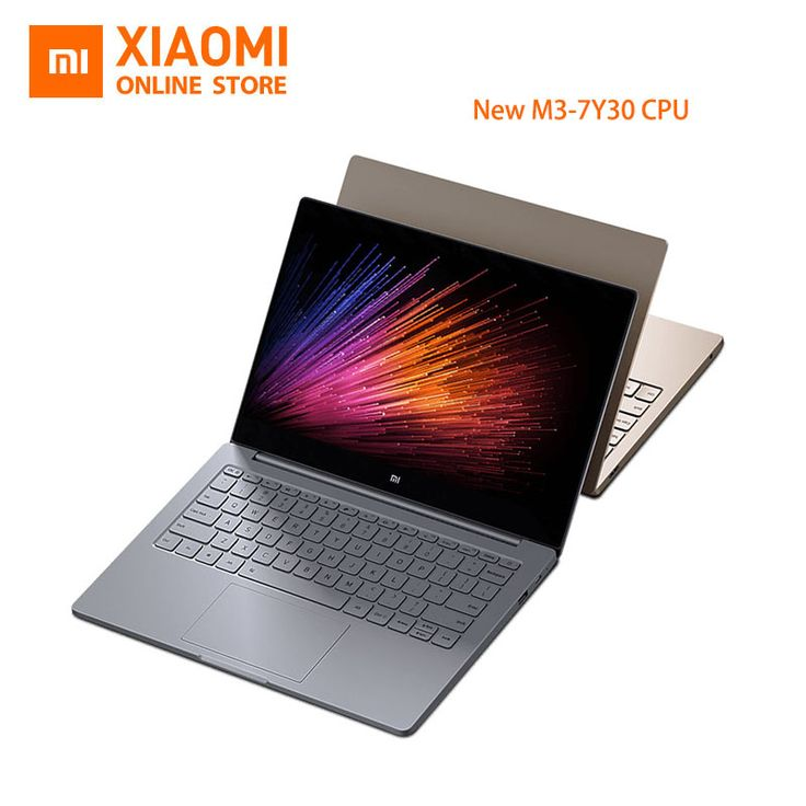 New Xiaomi Mi Laptop Notebook Air English Windows 10 Intel Core M3-7Y30 CPU 4GB DDR3 RAM Intel GPU 12.5 inch display SATA SSD – Tylko Okazje!