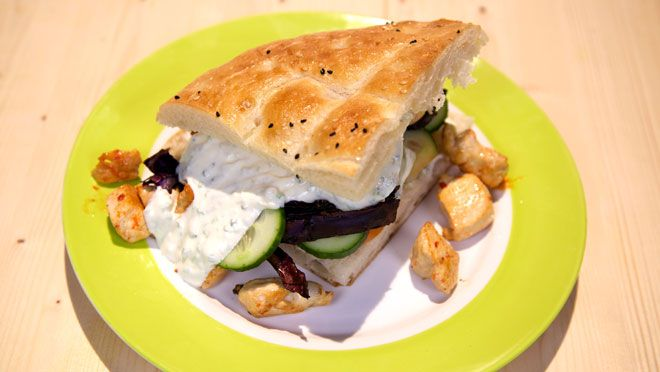 Broodje smaakexplosie - recept | 24Kitchen