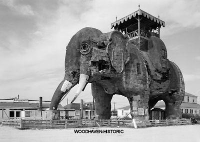 Lucy Margate Elephant Margate City NJ 1969 Photo 3 | eBay