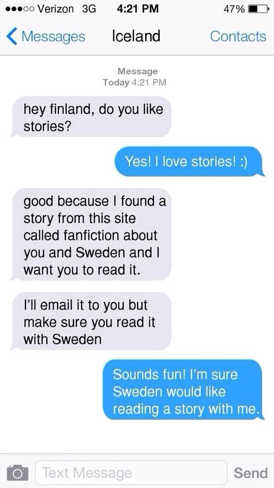 how to send a text to sweden from us