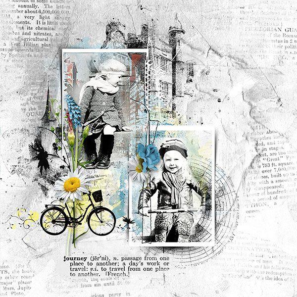 ~~ TRAVELOGUE ~~ by G&T Designs http://www.e-scapeandscrap.net/boutique/index.php… Photo Lenka Henulka Milerova use with Permission