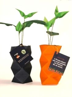 brinde corporativo em origami | Verônica Jamkojian