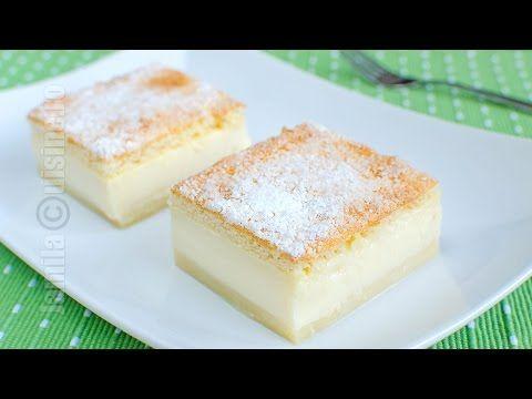 Prajitura desteapta cu vanilie - reteta video | JamilaCuisine