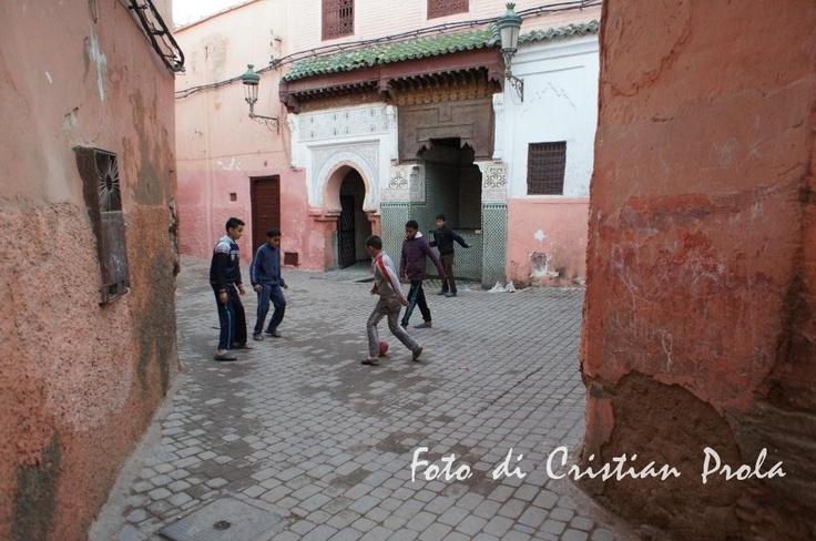 Kids at Medina