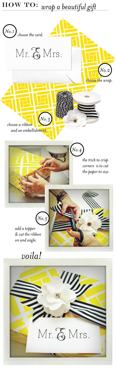 how to: gift wrapping