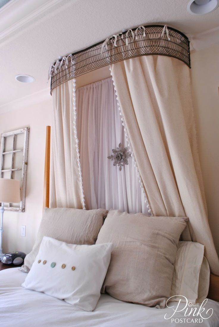 Bed Crown, Vintage Bed, Home Bedroom