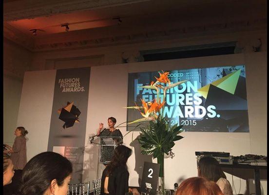 Fashion Futures Awards at 8 Northumberland