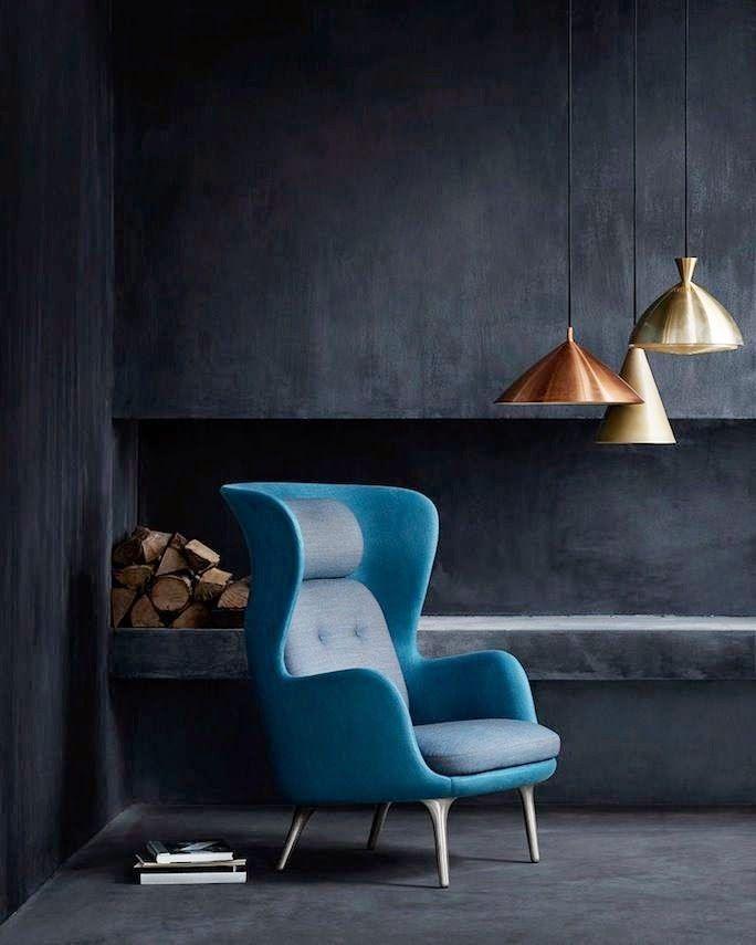 La Fabrique à Déco: Cuivre et Bleu, couleurs et matières