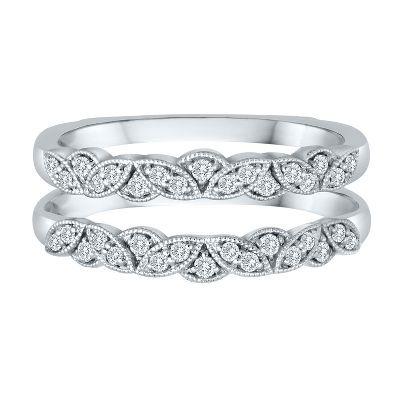 diamond ring enhancer in 14k gold available at - Wedding Diamond Rings
