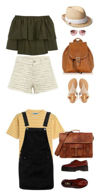 """Polyvore Outfit"" by christie-devina on Polyvore featuring IRO .JEANS, Apiece Apart, Gap, Qupid, Robe di Firenze, Tory Burch, M.i.h Jeans, Boohoo and Stiù"