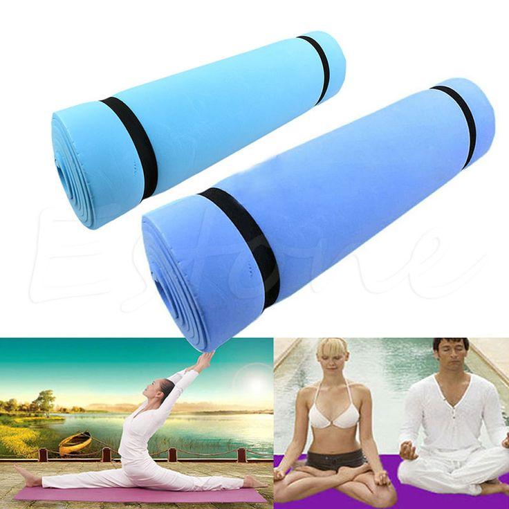 177*50*6cm EVA Foam Yoga  Mat  Dampproof Sleeping Soft and comfortable  Mat Exercise  Foam Fitness BodybuildingYoga Pad