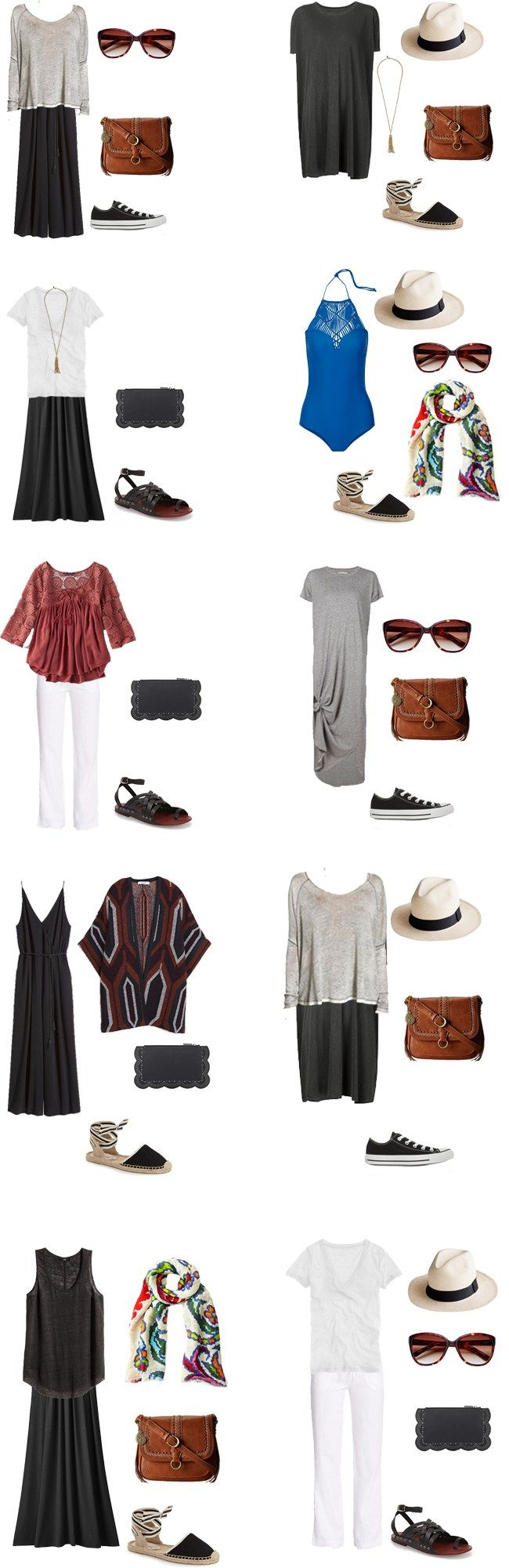 What to Wear in Panama Outfits 1-10 #travellight #packinglight #travel…