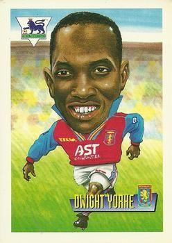1996-97 Merlin's Premier League #4 Dwight Yorke Front