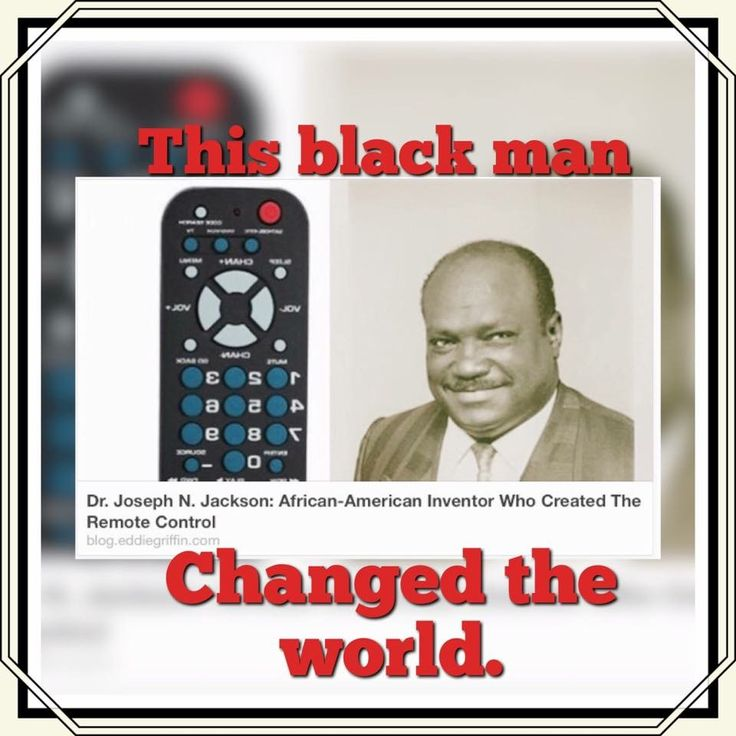 Dr. Joseph N. Jackson: Black Inventor who Created the Remote Control