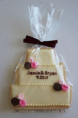 Wedding cookie favor