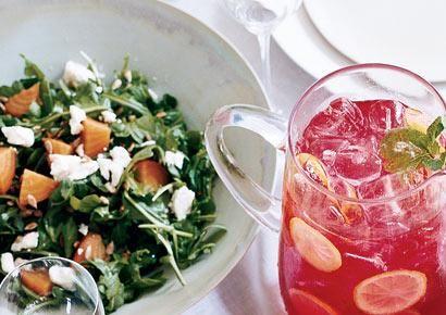 Beet and Arugula Salad with Sunflower Seed Vinaigrette