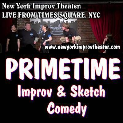 JUNE 5 8pm PRIMETIME Improv and Sketch Playground at the Broadway Comedy Club NYC