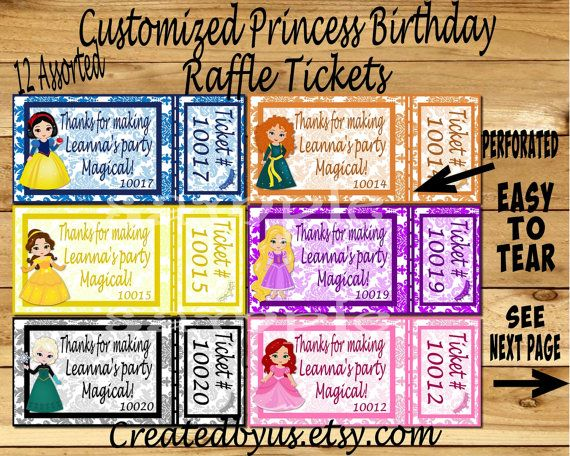 25  best ideas about raffle ticket printing on pinterest