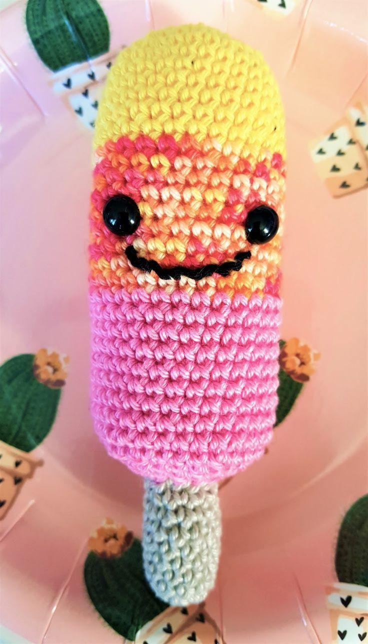 Kijk wat ik gevonden heb op Freubelweb.nl: een gratis haakpatroon van LolaIsHooked om een ijsje te maken https://www.freubelweb.nl/freubel-zelf/zelf-maken-met-haakkatoen-ijsje/