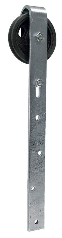 Pojezdové kolečko průměr 60 pro ručně posuvné dveře s kluzným kolíkem