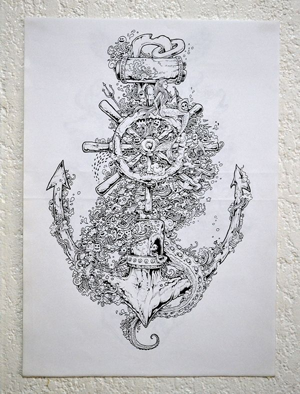 Doodles & Illustrations 2013 by Kerby Rosanes, via Behance                                                                                                                                                                                 Plus
