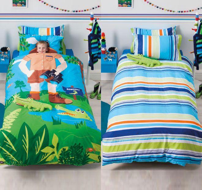 cubby-house-kids-croc-hunter-quilt-cover-set-range