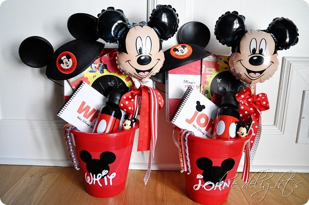 The Road to Disney {2012 Edition}. What this lady does for her kids to let them know they are going to Disney. It has little gifts and things for the car ride.