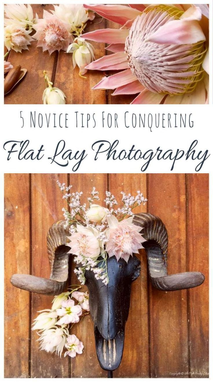 Flat lay photography isn't easy, but you can do it using these tips