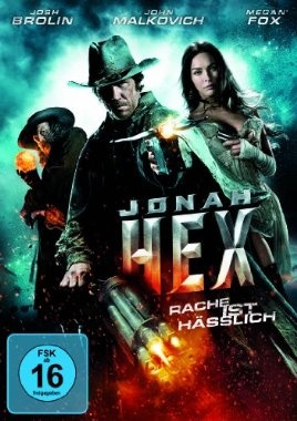 Jonah Hex  2010 USA      Jetzt bei Amazon Kaufen Jetzt als Blu-ray oder DVD bei Amazon.de bestellen  IMDB Rating 4,6 (29.372)  Darsteller: Josh Brolin, John Malkovich, Megan Fox, Michael Fassbender, Will Arnett,  Genre: Action, Drama, Fantasy,  FSK: 16