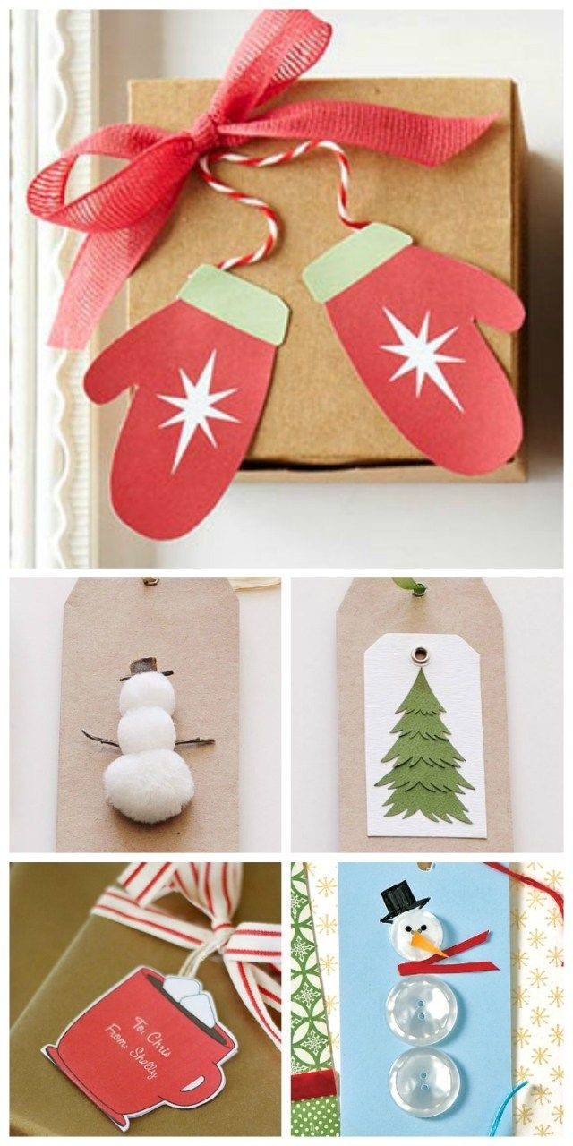 Easy Christmas Gift Tags To Diy  31daily