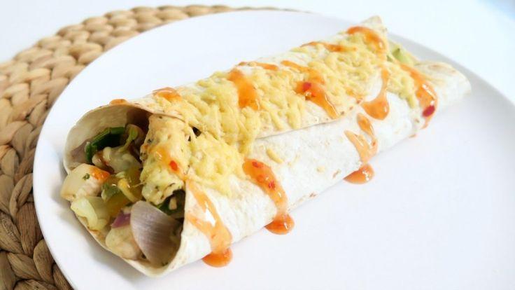 Gezond Recept: Wrap met Kip uit de Oven! - Optima Vita