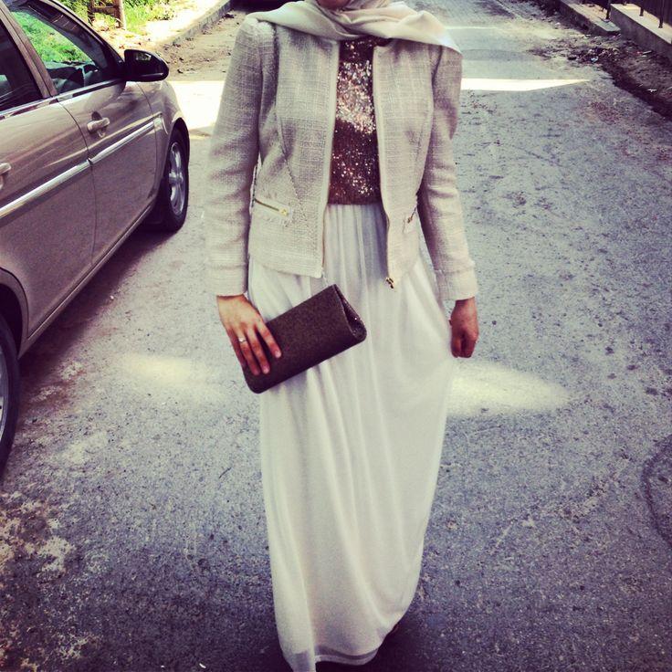 Chic Hijab dress fashion everything