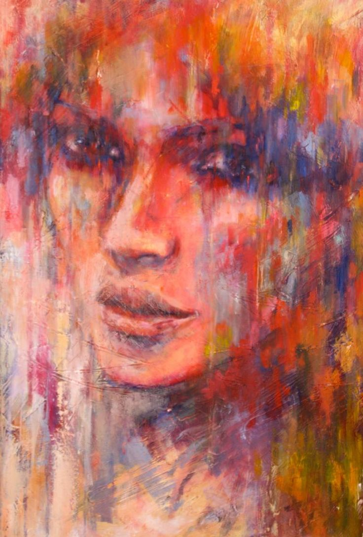 "Saatchi Art Artist Evelyn Hamilton; Painting, ""Don't leave me."" #art"