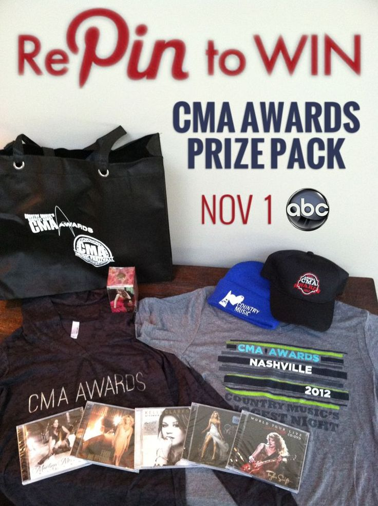 Only ONE week left until the 46th Annual CMA Awards! REPIN for