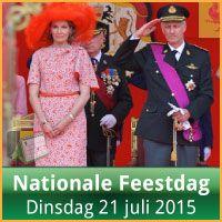 Evenementen op Nationale Feestdag 21 Juli 2015 Militair Defile Brussel via http://www.feestdagen-belgie.be/