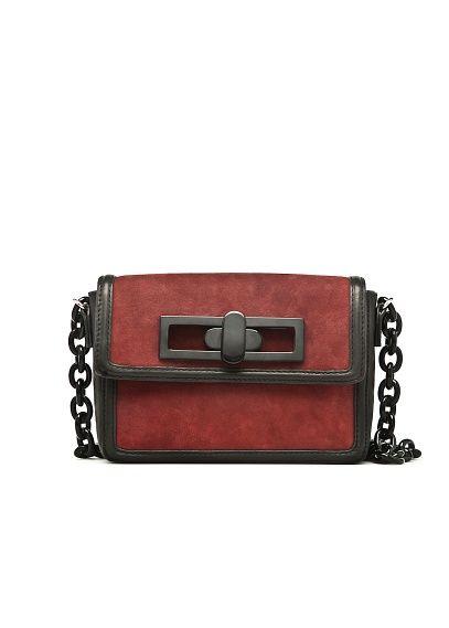 MANGO TOUCH - Chain suede bag by Gala González