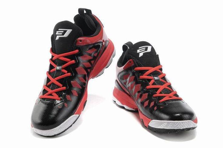 Jordan CP3.VI Black/White-Gym Red  newest jordan shoes