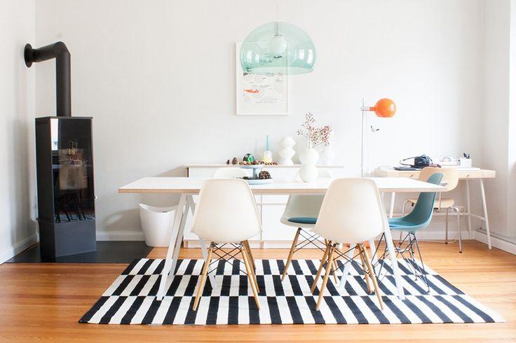 homestory interior design danishdesign white eating eames