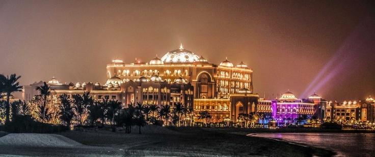 Emirates Palace By Night - Abu Dhabi