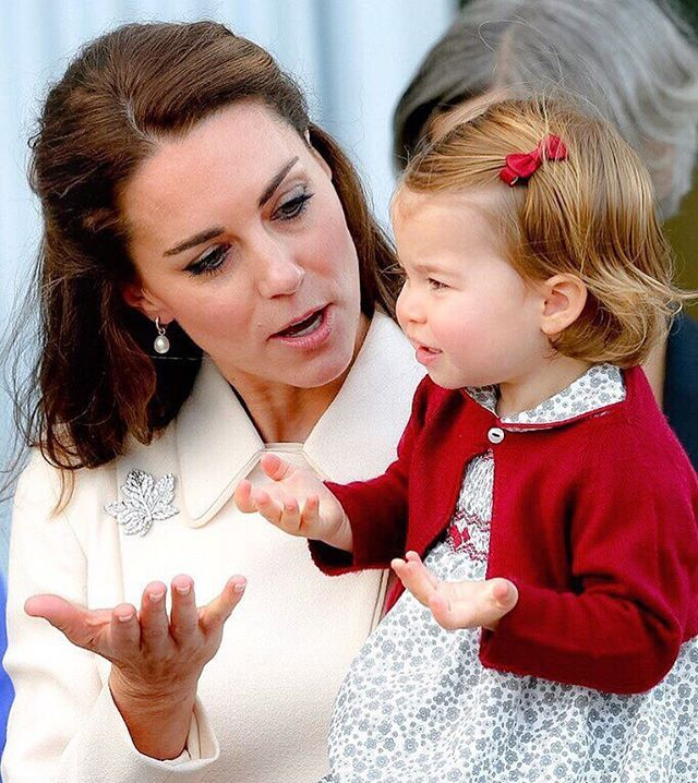 Catherine, Duchess of Cambridge and Princess Charlotte in Canada on Royal Tour 2016