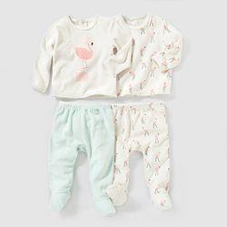 554d80a0a2e97 Pyjama 2 pièces velours (lot de 2) RIbaby - 2-delige pyjama (set van 2)  RIbaby