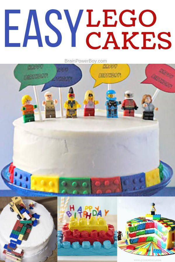 Easy Lego Cakes You Can Make With Recipes And Instructions